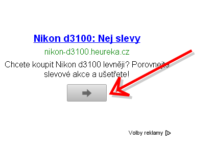 Nový call to action prvek u Google Adsense